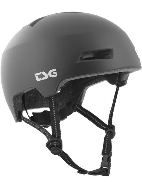 TSG Status Solid Color Fietshelm zwart